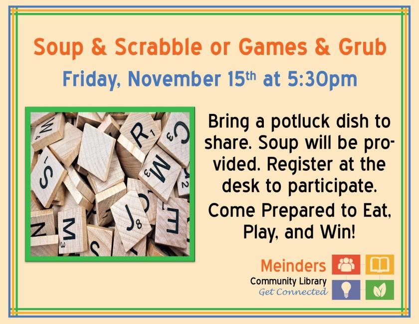 Soup & Scrabble